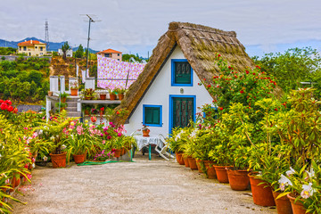 Village house in Madeira, Portugal.