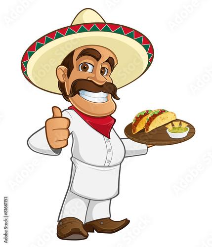 Cocinero mexicano - 81661151