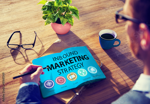 Inbound Marketing Strategy Commerce Solution Concept - 81661369