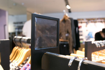 fashion clothes shop interior