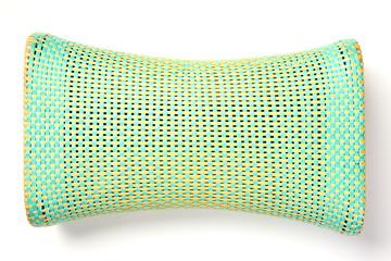 Pillow made of bamboo