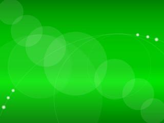 背景素材(グリーン・円形)