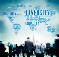 Diversity Community Population Business People Concept