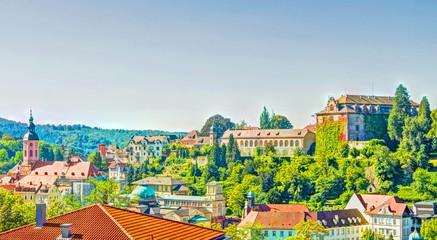 Panorama - Blick ueber Baden-Baden
