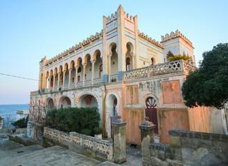 Villa Sticchi in Santa Cesarea Terme, Apulia, Italy