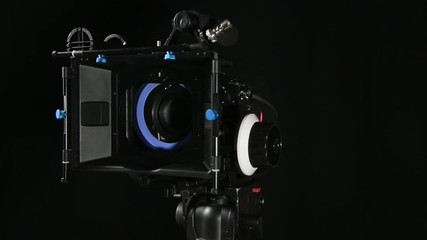 professional movie camera