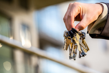 Bunch of keys to your brand new apartment
