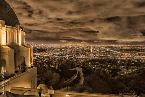 Fototapeta Los Angeles cityscape