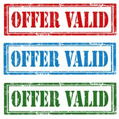 Offer Valid-stamps