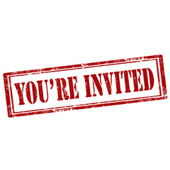 You're Invited-stamp