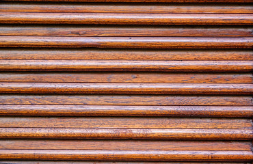 Weathered wooden ventilation louvers