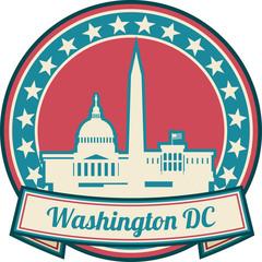 Washington D Skyline