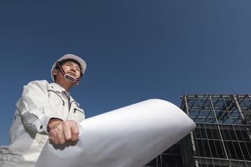 建設現場と技術者イメージ