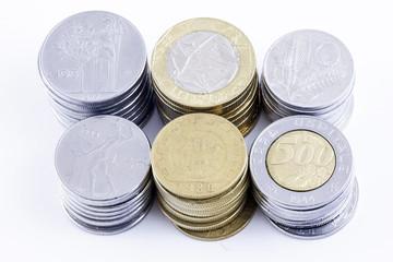 Monete: tutti i tagli della lira