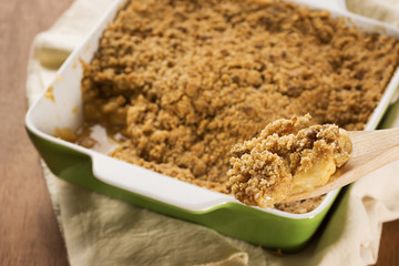 Apple Crisp or Apple Crumble
