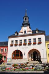 Rathaus in Saalburg / Thüringen
