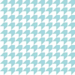 Retro Corner Pattern Seamless Turquoise Diagonal