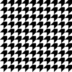 Retro Corner Pattern Seamless Black/White Diagonal