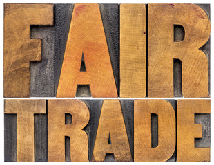 fair trade typography