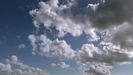 Bright Clouds Time Lapse