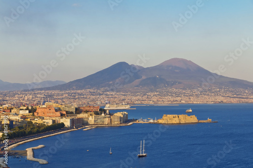 Panorama of Naples