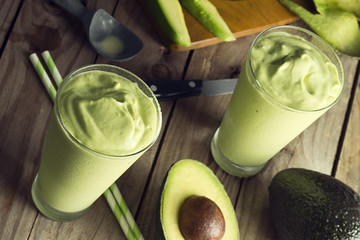 Avocado Shakes, Smoothies or Frappes