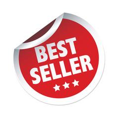 BEST SELLER red vector sticker