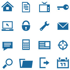 Icons set for web and mobile apps.