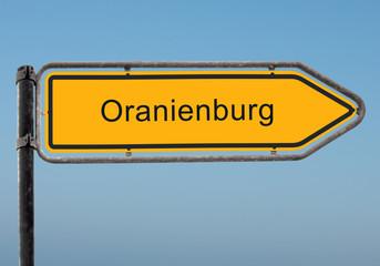 Strassenschild 35 - Oranienburg