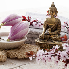 spa treatment with Buddha in mind