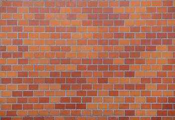 Orange tiled wall