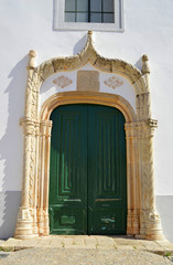 Alte church of Our Lady of the Assumption door