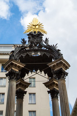 Details of  Marriage or Wedding Fountain in Vienna