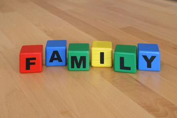 Family Bausteine