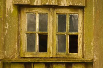 Altes Sproßenfenster