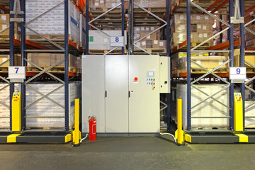 Automated shelving system