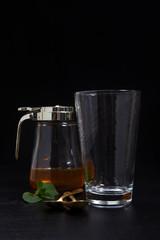 empty glass. still life