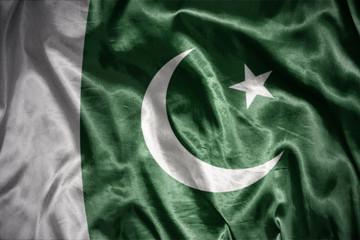 shining pakistani flag
