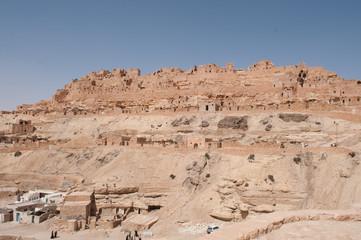 Ville Tunisienne de désert