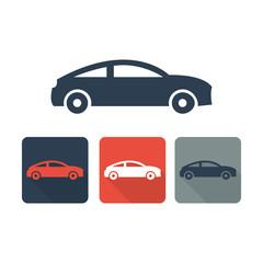 Automobile icon- Transport symbol 1