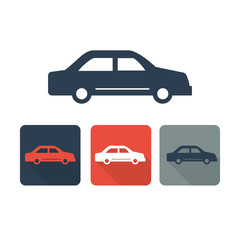 Automobile icon- Transport symbol 2