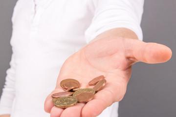 Kleingeld geben