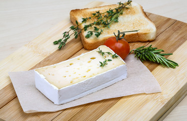 Soft brie cheese