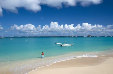 Grand Case beach, Saint Martin