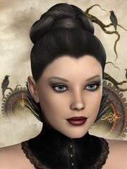 3d graphics Girl
