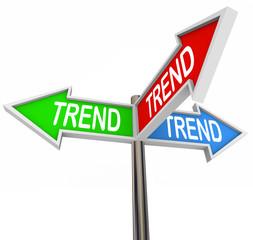 Trend 3 Arrow Signs Popular Best Hottest Fads New Updates