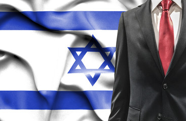 Man in suit from Israel