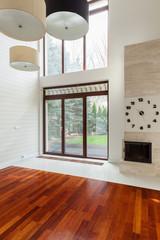 Contemporary decor of lounge