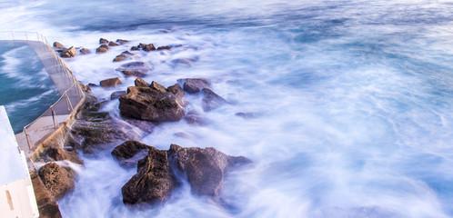 Bronte Beach. ocean, rocks and pool
