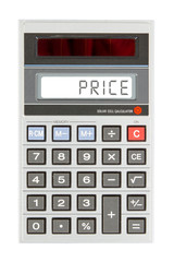 Old calculator - price